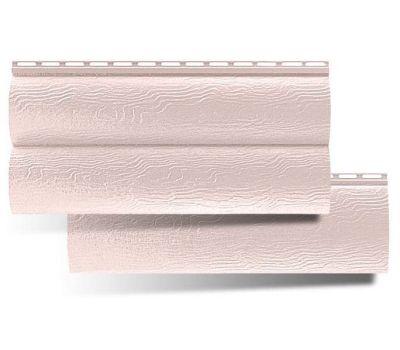 Виниловый сайдинг Blockhouse (Блокхаус - под бревно), двухпереломный, Персиковый от производителя Альта-профиль по 278 р