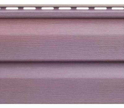 Виниловый сайдинг Аляска Люкс, Виолет от производителя Альта-профиль по цене 161.35 р