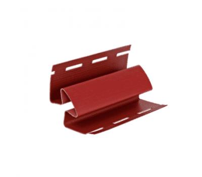Угол внутренний Элит для сайдинга, красный от производителя Grand Line по цене 490.00 р