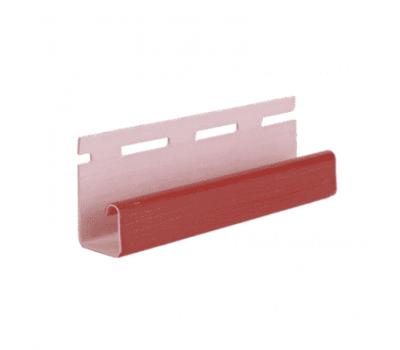 J-профиль Элит для сайдинга, красный от производителя Grand Line по цене 270 р