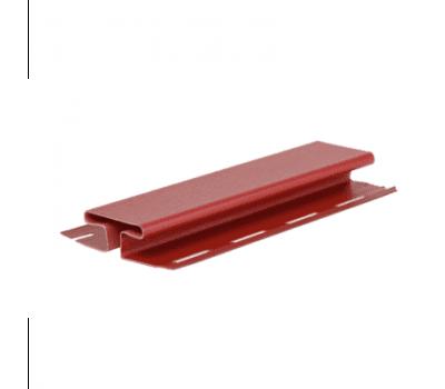 H-профиль Элит для сайдинга, красный от производителя Grand Line по цене 480 р
