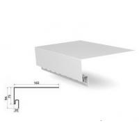 J-фаска ( ветровая, карнизная планка ) белая для сайдинга