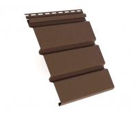 Софит коричневый гладкий