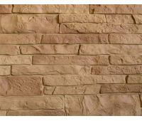 Цокольный сайдинг Stacked-Stone (Природный камень) DESERT SUNSET (Золотисто-бежевый)