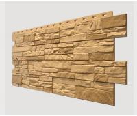 Фасадные панели (цокольный сайдинг) , Stein (песчаник), Bronzenstein Бронзовый