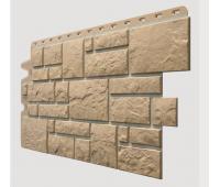 Фасадные панели (цокольный сайдинг) , Burg (камень), Оливковый