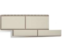 Фасадные панели (цокольный сайдинг) КОЛЛЕКЦИЯ «Флорентийский камень» Белый
