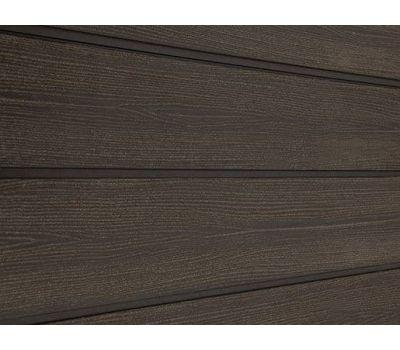 Фасадная доска ДПК SORBUS Темно-Коричневая Радиальная от производителя Savewood по цене 230 р