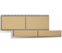 Фасадные панели (цокольный сайдинг) КОЛЛЕКЦИЯ «Флорентийский камень» Песчанный