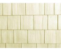Цокольный сайдинг Rough-Sawn Cedar (Дранка) EGGSHELL (Яичная скорлупа)
