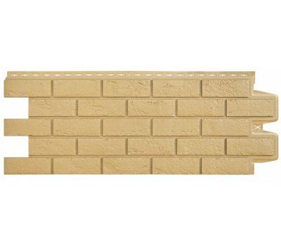 Фасадные панели состаренный кирпич Песочный от производителя Grand Line по цене 299.00 р