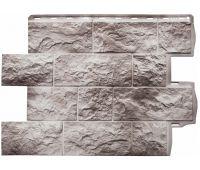 Фасадные панели (цокольный сайдинг) КОЛЛЕКЦИЯ ТУФ Исландский