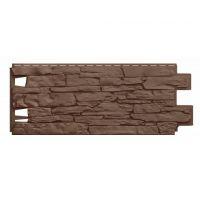 Фасадные панели (Цокольный Сайдинг)  VOX VILO Solid Stone Коричневый