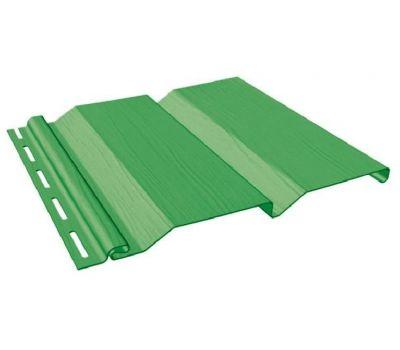 Виниловый сайдинг - Standart Extra Color, Зеленый от производителя Fineber по цене 222.00 р