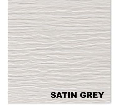 Виниловый сайдинг, Satin Grey (Атлас серый) от производителя Mitten по цене 369 р