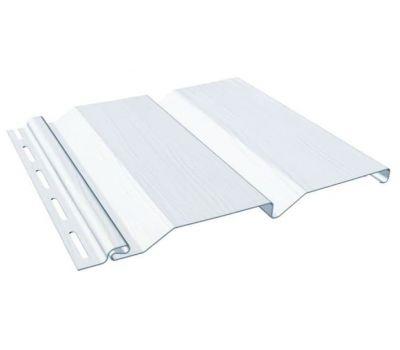 Виниловый сайдинг - Standart, Белый от производителя Fineber по 142 р