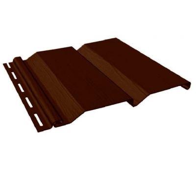 Виниловый сайдинг - Standart Extra Color, Темный дуб от производителя Fineber по цене 222.00 р
