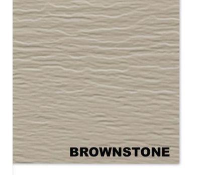 Виниловый сайдинг, BrownStone (Бурый песчаник) от производителя Mitten по цене 369 р