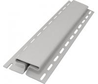Н-профиль соединительный 3050 мм,Атласный серый