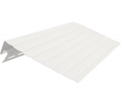 Ветровая (карнизная) доска 3050 мм Белая от производителя Vinyl-On по цене 535.00 р