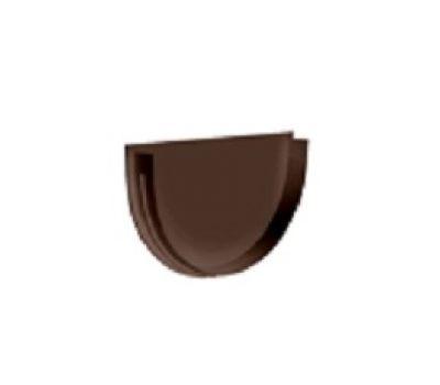 Заглушка желоба универсальная Premium ПВХ Шоколад от производителя Docke по цене 72 р