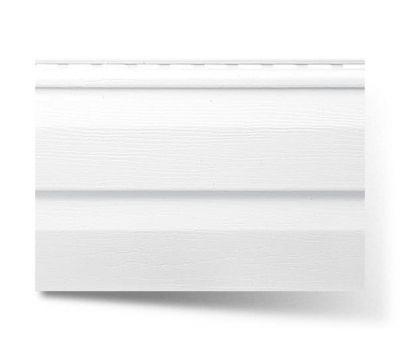 Виниловый сайдинг, Белый от производителя Альта-профиль по цене 190.75 р