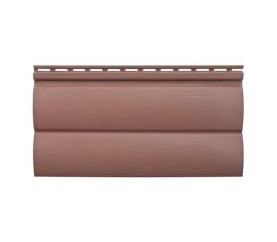 Сайдинг Blockhouse ВН-03 (Блокхаус) акриловый, Красно-коричневый от производителя Альта-профиль по цене 207.98 р