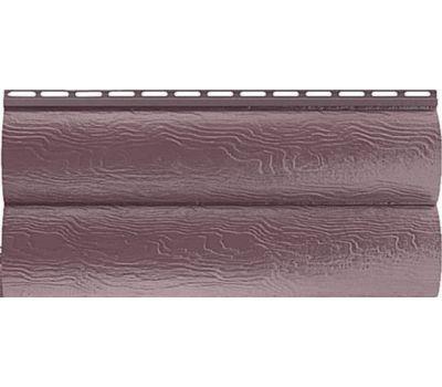 Сайдинг Blockhouse (Блокхаус - под бревно) акриловый, двухпереломный, Красно-коричневый от производителя Альта-профиль по цене 393.80 р