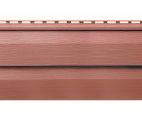 Виниловый сайдинг (Канада плюс) коллекция Премиум. Красно-коричневый