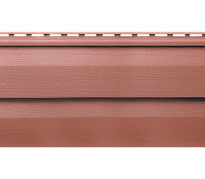 Виниловый сайдинг (Канада плюс) коллекция Премиум. Красно-коричневый от производителя Альта-профиль по цене 238.00 р