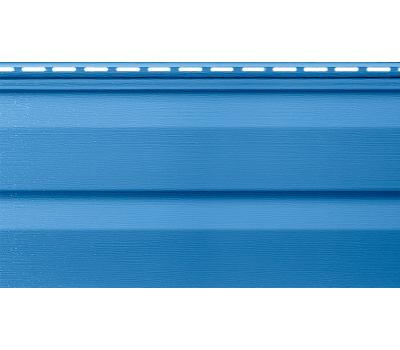 Виниловый сайдинг (Канада плюс) коллекция Премиум. Синий от производителя Альта-профиль по цене 233.00 р