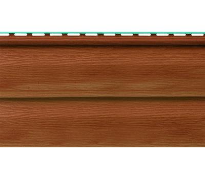 Виниловый сайдинг (Канада плюс) коллекция Премиум. Орех темный от производителя Альта-профиль по цене 274.00 р