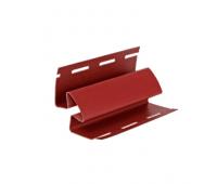 Угол внутренний Элит для сайдинга, красный