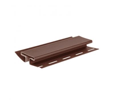 H-профиль Элит для сайдинга, коричневый от производителя Grand Line по цене 480.00 р