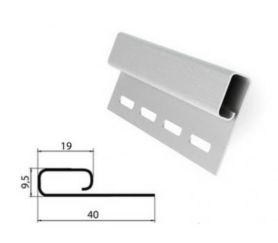 Финишная планка (завершающая полоса) белая для сайдинга от производителя Grand Line по цене 210.00 р