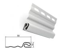 Стартовая планка белая для сайдинга