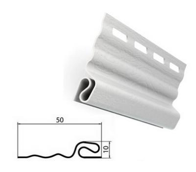Стартовая планка белая для сайдинга от производителя Grand Line по цене 120.00 р