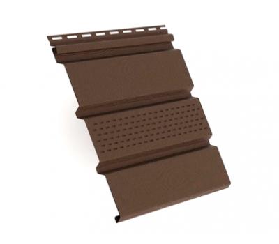 Софит коричневый с центральной перфорацией от производителя Grand Line по цене 610.00 р