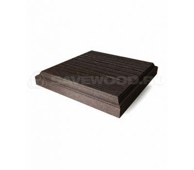Крышка для заборов и ограждений из ДПК от производителя Savewood по цене 532.00 р