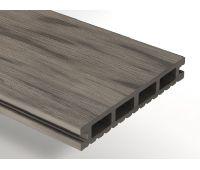 Террасная доска ДПК Select 146х22х3000 мм Серый дым
