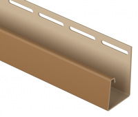 J-профиль фасадный 30 мм Каштановый