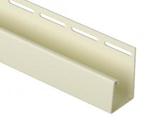 J-профиль фасадный 30 мм Слоновая кость