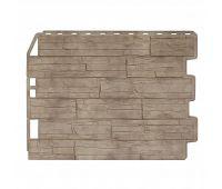 Фасадные панели (цокольный сайдинг) Скол Золотой Песок