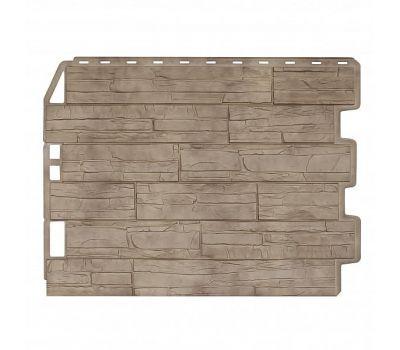 Фасадные панели (цокольный сайдинг) Скол Золотой Песок от производителя Holzplast по цене 405.00 р