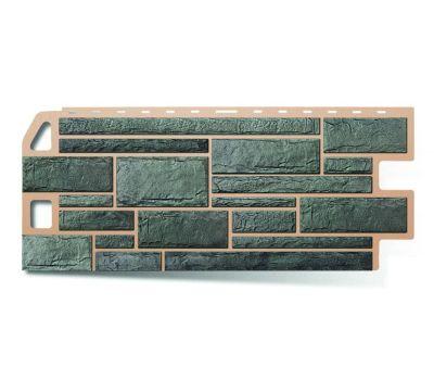 Фасадные панели (цокольный сайдинг) КОЛЛЕКЦИЯ «КАМЕНЬ» Серый от производителя Альта-профиль по цене 439.00 р