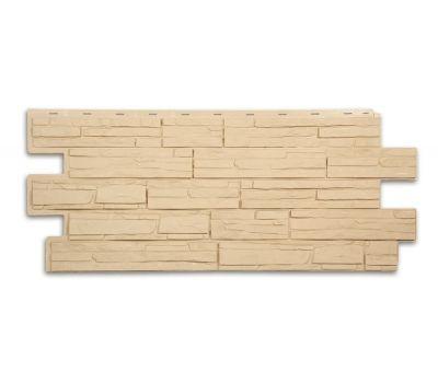Фасадные панели (цокольный сайдинг) коллекция ЭКО-1 АЛЬПИЙСКАЯ СКАЗКА - Желтый от производителя Т-сайдинг по цене 349.00 р
