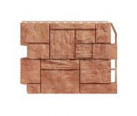 Фасадные панели (цокольный сайдинг) Туф Светло коричневый