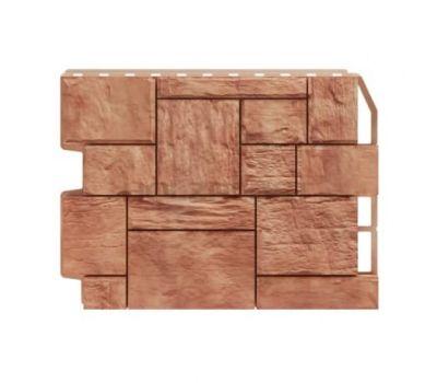 Фасадные панели (цокольный сайдинг) Туф Светло коричневый от производителя Holzplast по цене 425.00 р
