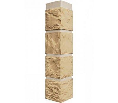 Угол наружный коллекция Камень Бежевый от производителя Fineber по цене 430.00 р
