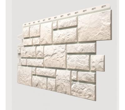 Фасадные панели (цокольный сайдинг) , Burg (камень), Weibburg Белый от производителя Docke по цене 427.00 р